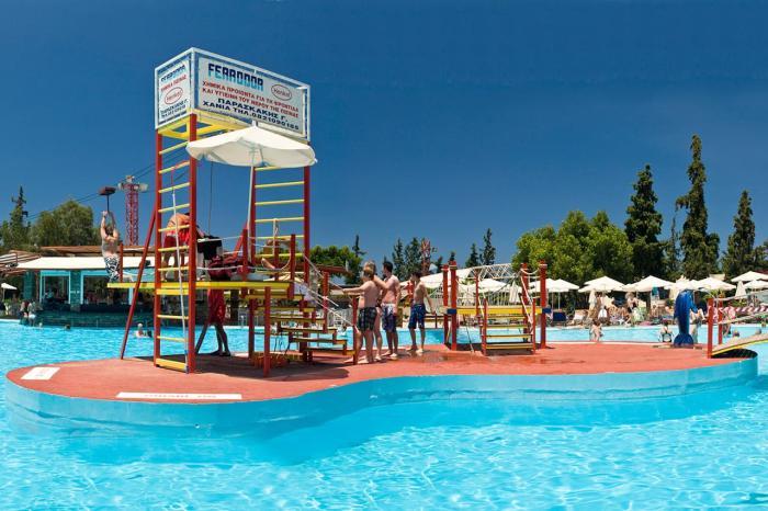 Чем заняться на Крите в октябре, Ханья, аквапарк Лимнуполис
