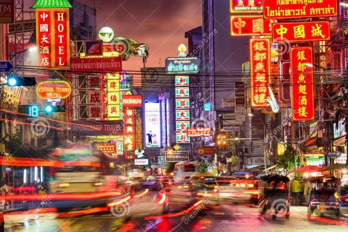Погода в Бангкоке в мае, Китайский квартал