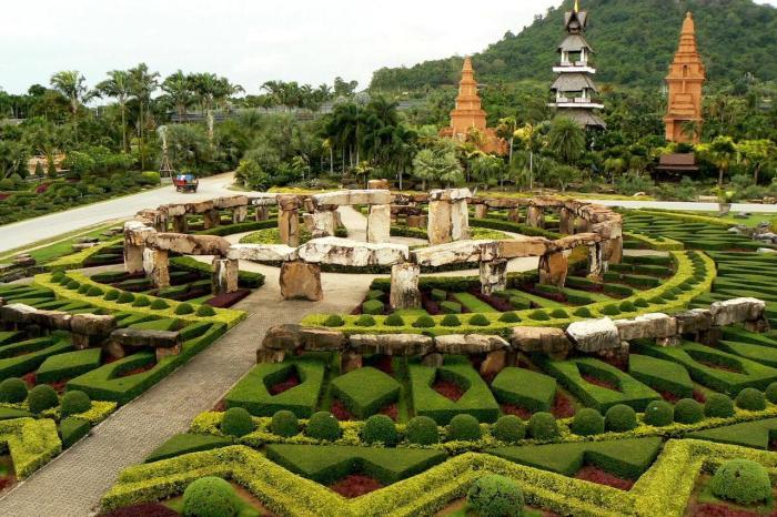 Погода в Паттайя в мае, Сад Нонг-Нуч
