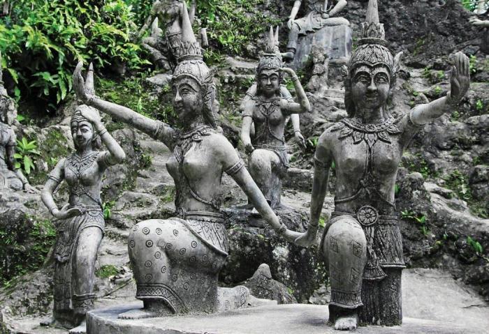 Самуи, Магический сад Будды