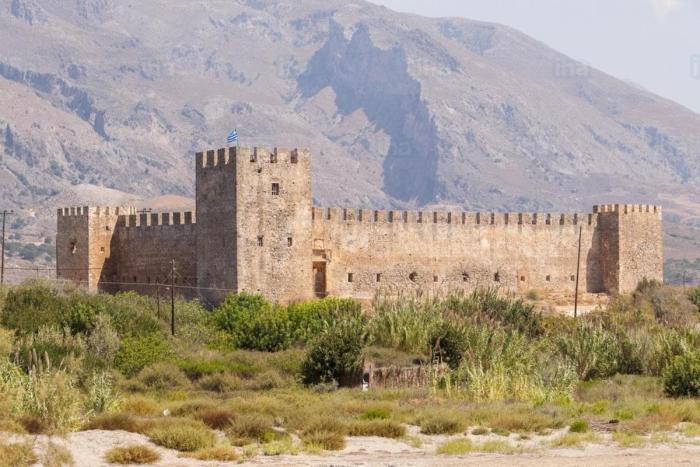 Крит, Крепость Франгокастелло