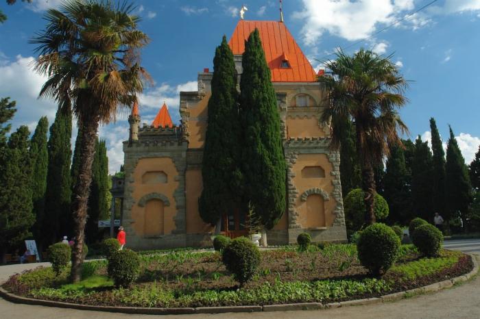 Алушта, Дворец княгини Гагариной