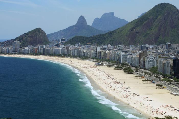 Бразилия, Пляж Копакабана