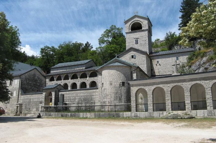 Черногория, Цетинский монастырь