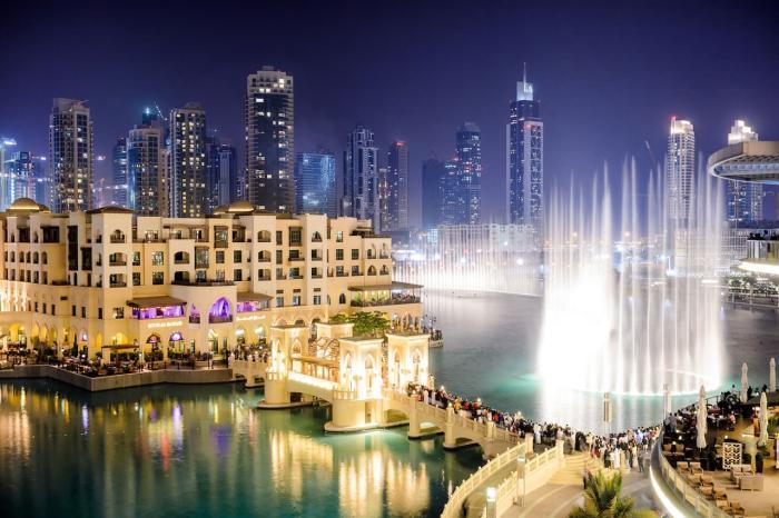 Дубай, Поющие фонтаны