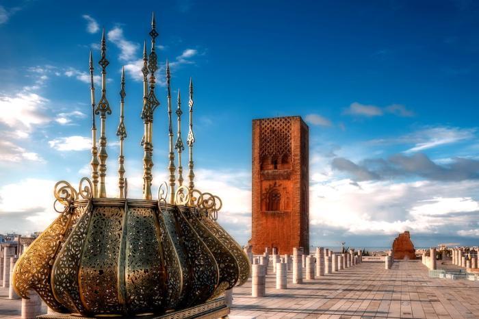 Марокко, Башня Хасана в Рабате