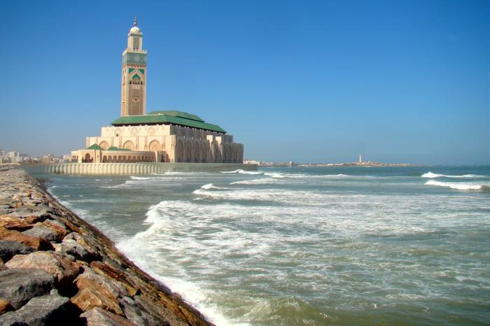 Марокко, Мечеть Хасана в Касабланке