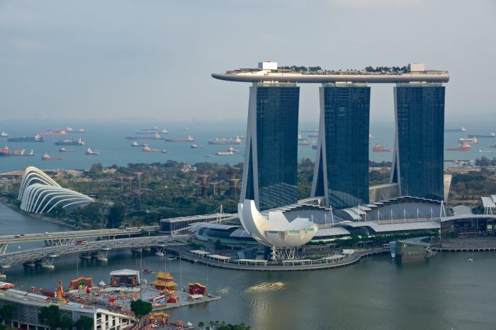 Сингапур, Комплекс Marina Bay Sands