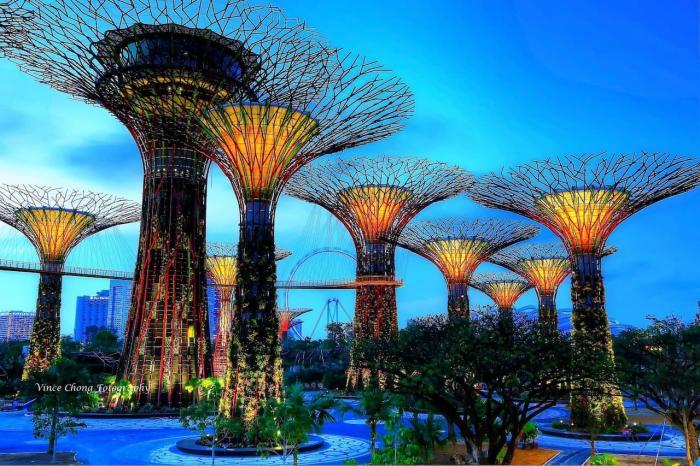 Сингапур, Теплицы-оранжереи