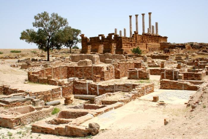 Тунис, Развалины древнего Карфагена