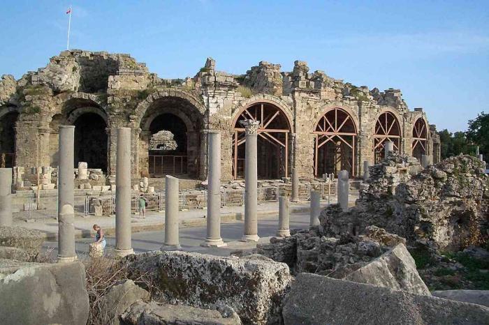 Турция, Античный театр в Сиде