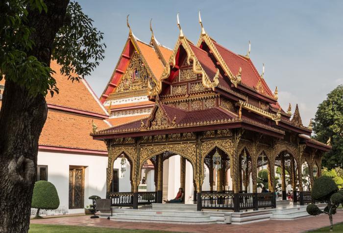 Отдых с ребенком, Национальный музей Бангкока