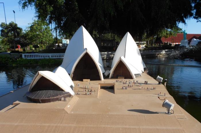 Паттайя, парк Мини Сиам