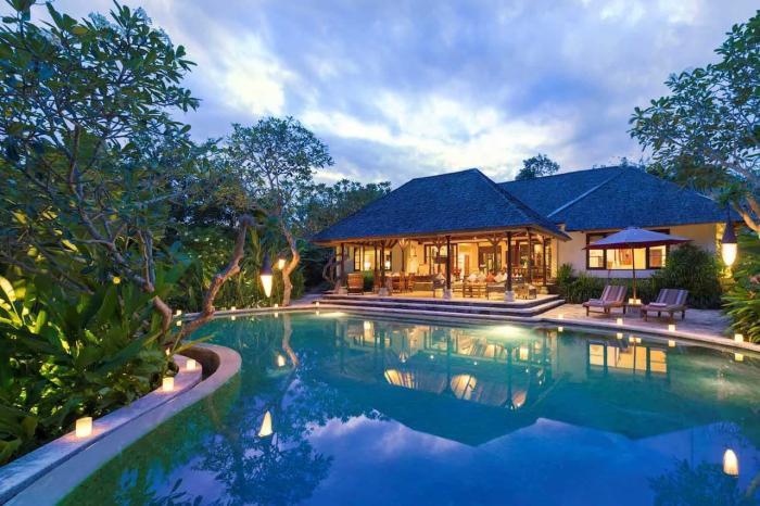 Индонезия, Шикарные отели на острове Бали