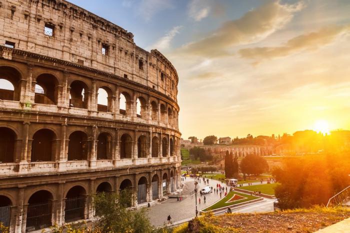 Италия, или посмотрите на Колизей в Риме