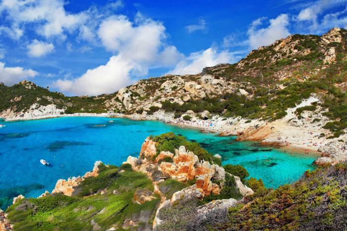 Италия, остров Сардиния