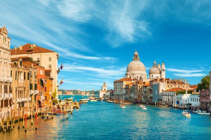 Италия, Посетите романтичную Венецию