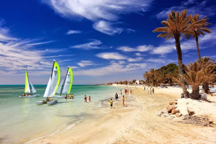 Тунис, Займитесь водным спортом