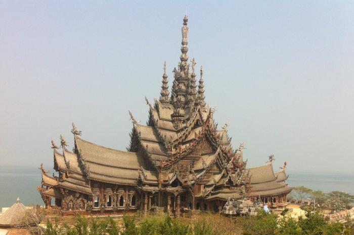 Таиланд Паттайя Храм Истины