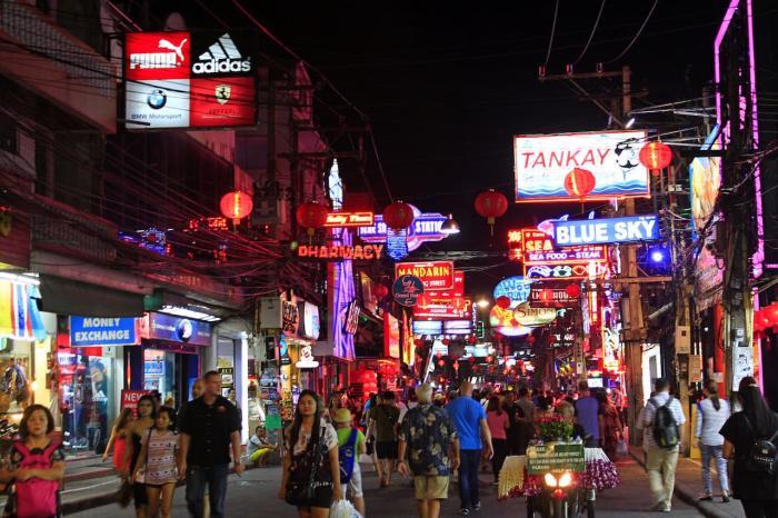 Таиланд Паттайя Уокинг-стрит