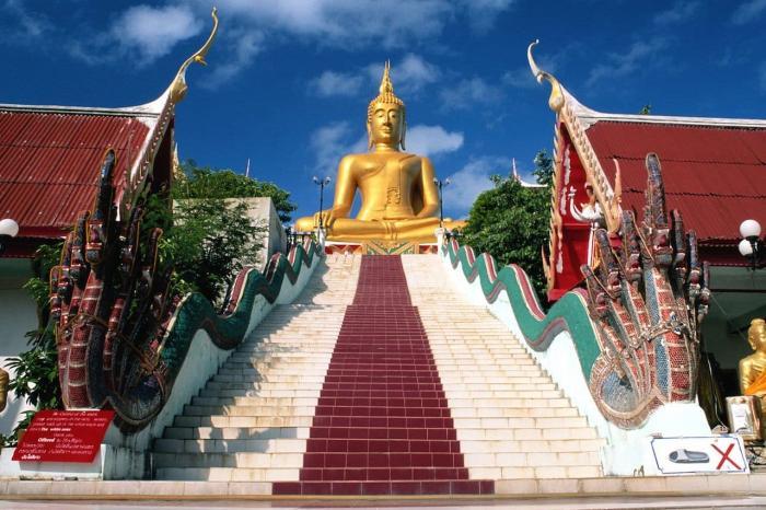 Таиланд Самуи Большой Будда
