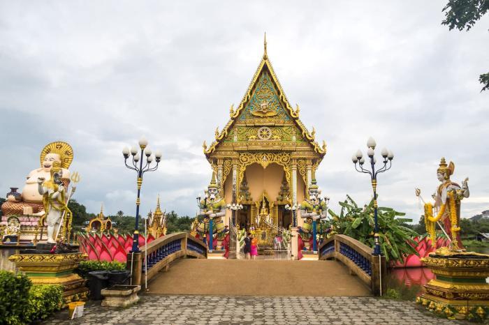 Таиланд Самуи Wat Plai Laem