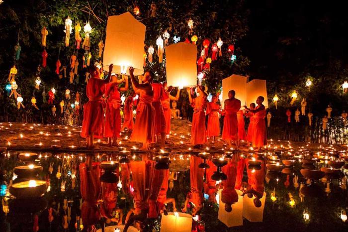 Чем заняться на Паттае в ноябре, Фестиваль Лои Кратонг