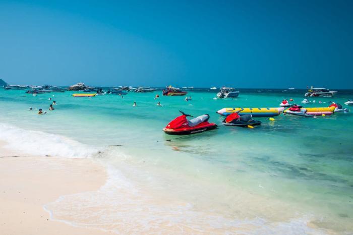 Чем заняться на Паттае в ноябре, пляж Ко-Лан