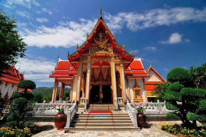Пхукет, Храм Ват Чалонг