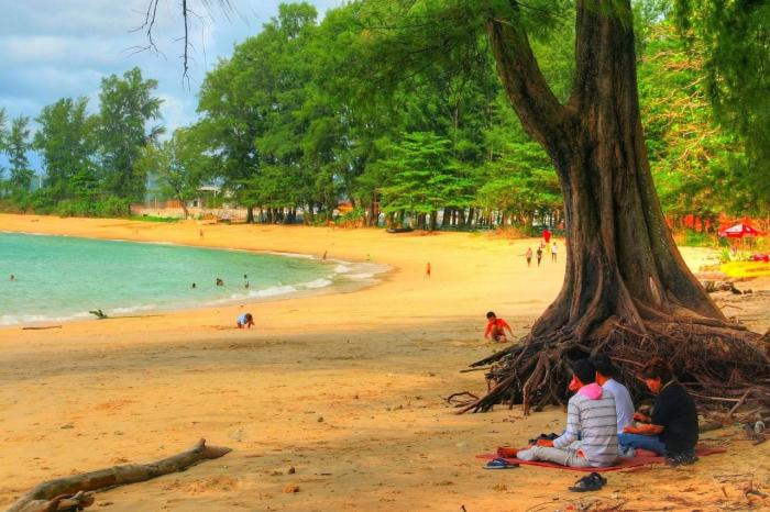 остров обезьян в Тайланде в Пхукете