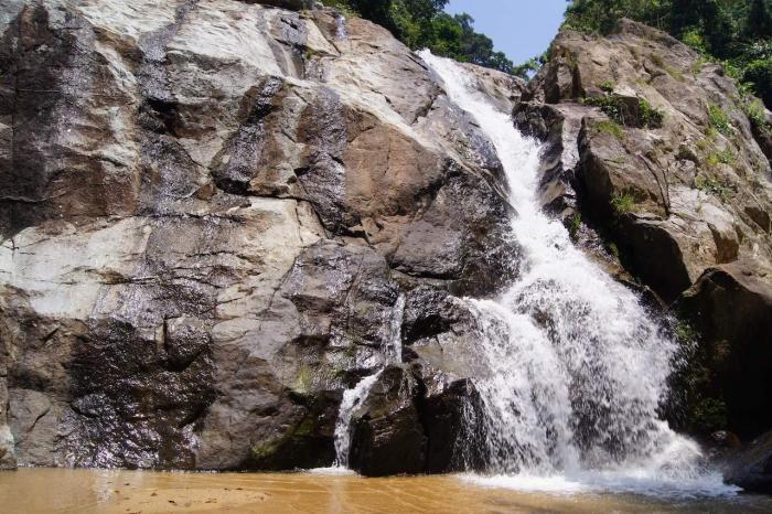 Погода на Самуи в апреле - Водопад Хин Лат