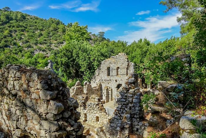 Кемер, Античный город Олимпос