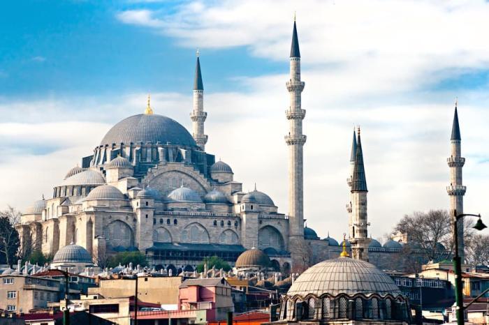 Погода в Стамбуле в июле - Мечеть Сулеймание