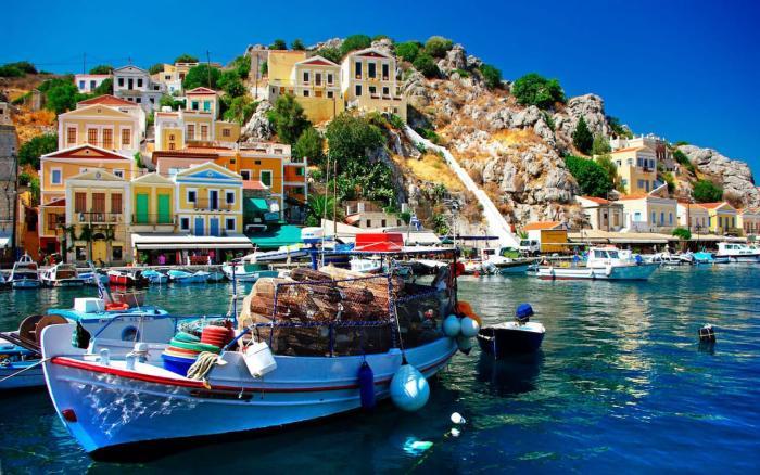 Погода в Греции в августе 2018 года
