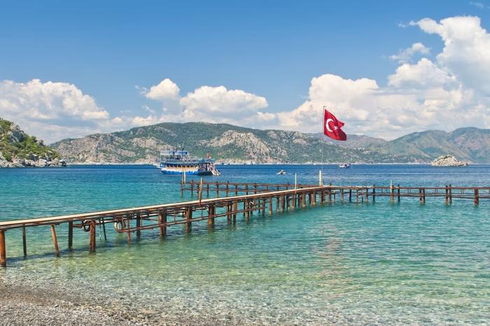 Погода в Турции в октябре 2021 года