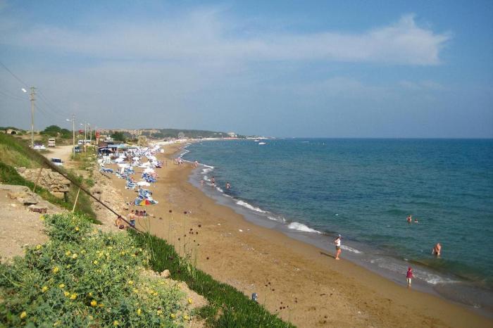 Погода в Сиде в августе - Пляж в Сиде