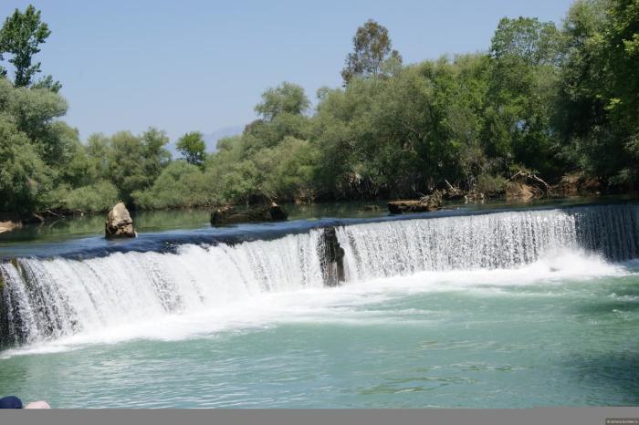 Сиде, Водопад Манавгат
