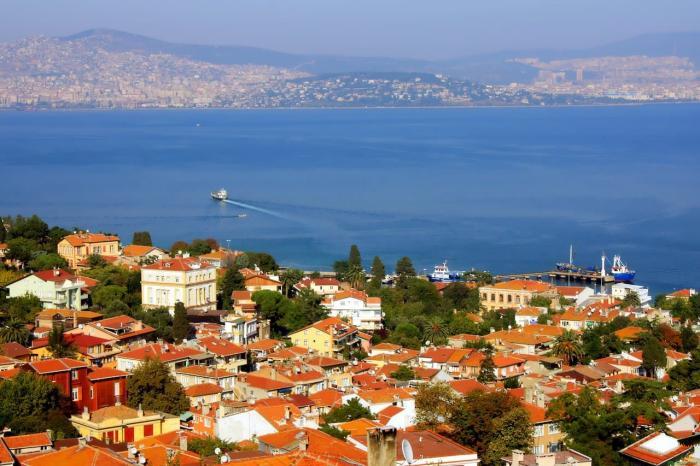Погода в Стамбуле в октябре - Принцевы острова