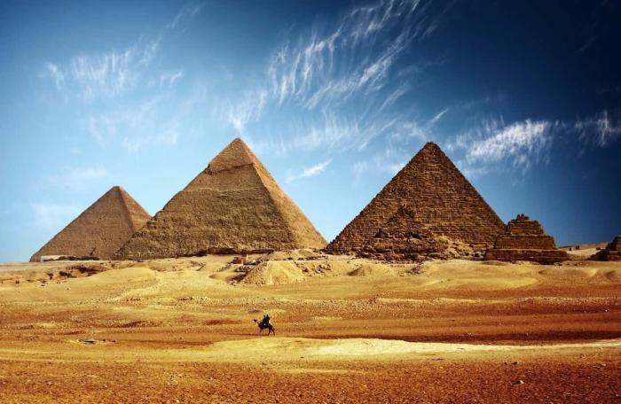 Египет, Пирамиды