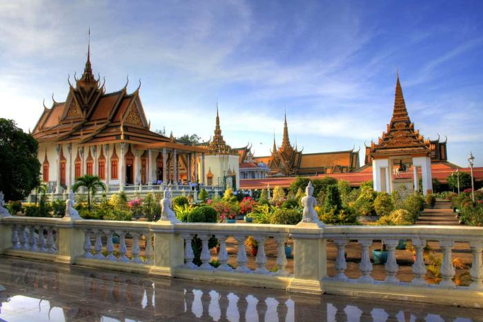 Камбоджа, Серебряную Пагоду