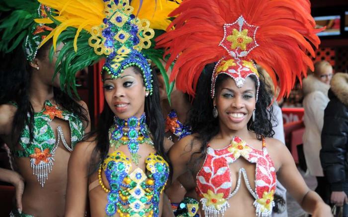 Куба, карнавал в Гаване