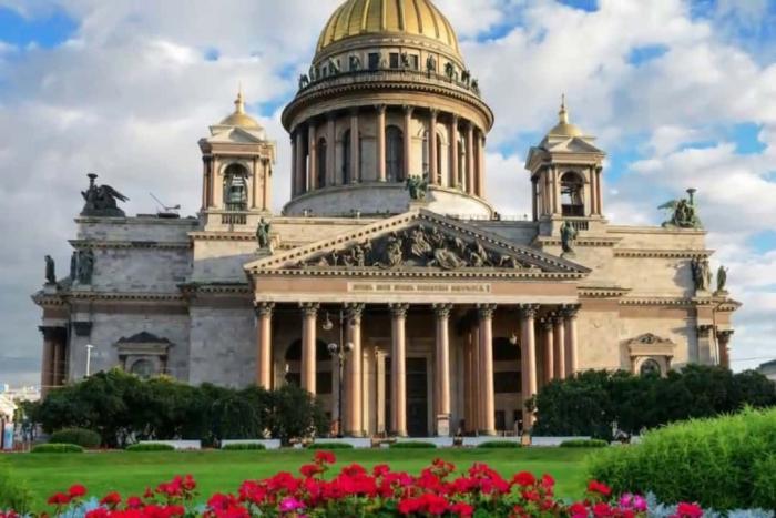 Санкт-Петербург Исаакиевский собор