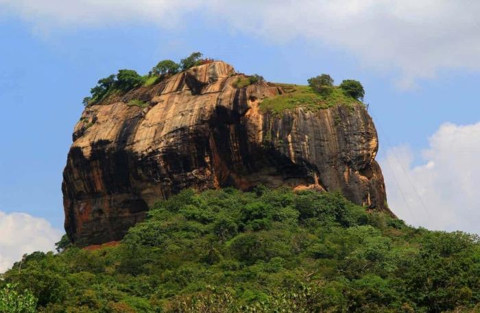Шри-Ланка, плато «Львиная скала»