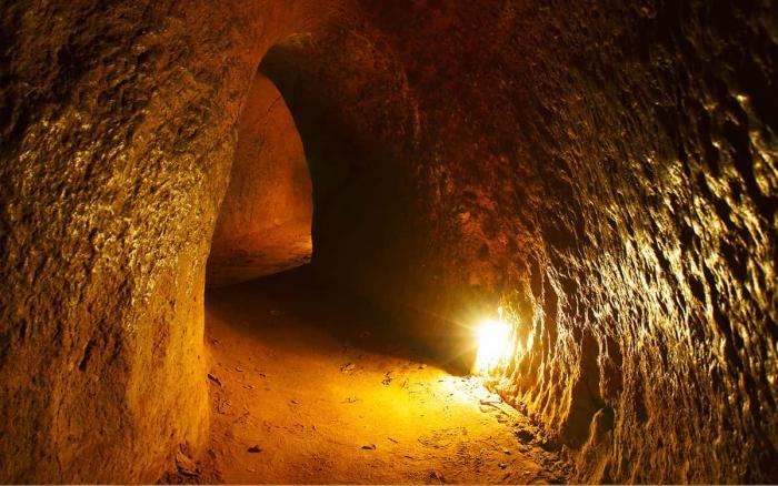 Вьетнам, тунели кучи
