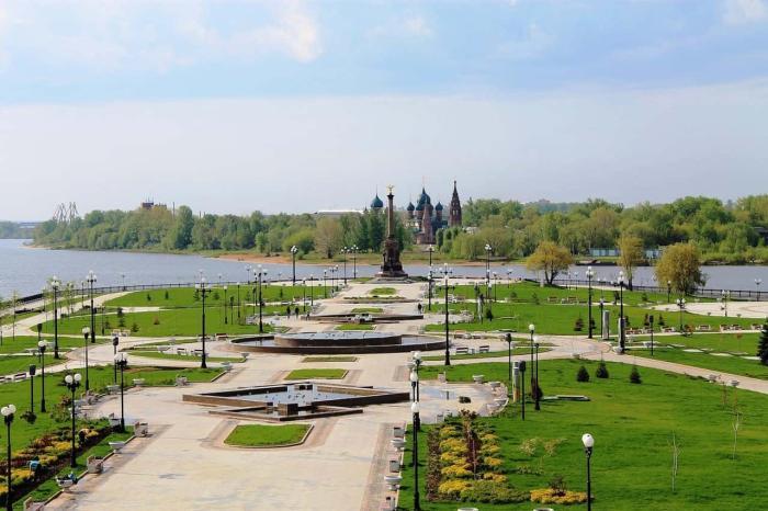Ярославль парке на Стрелке